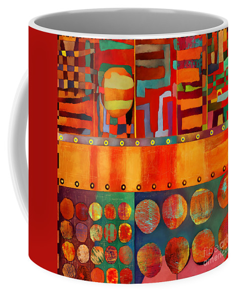 Transit Of Venus Coffee Mug featuring the photograph Transit Of Venus by Elena Nosyreva