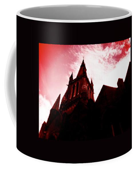 Iconography Coffee Mug featuring the photograph Treacherous Skies by Jennifer Kuehne