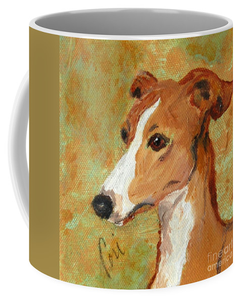 Acrylic Coffee Mug featuring the painting Treasured Moments by Cori Solomon
