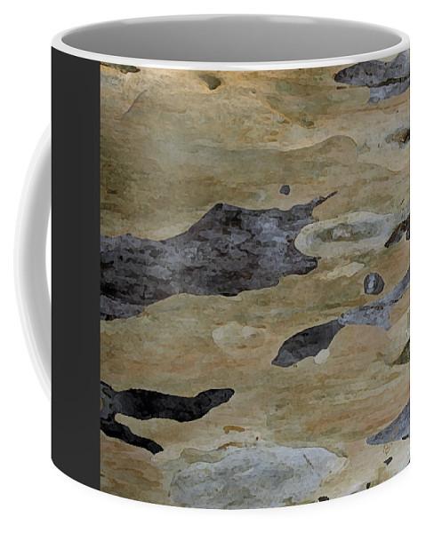 Eucalyptus Coffee Mug featuring the photograph Tree Bark I by Ben and Raisa Gertsberg