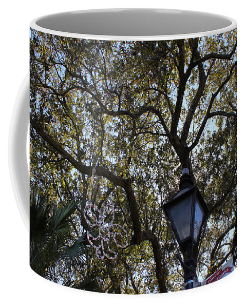 Tree Coffee Mug featuring the photograph Tree In French Quarter by Bev Conover