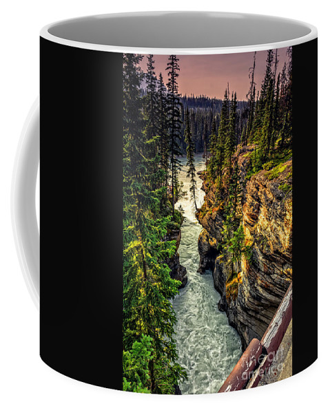 Tree Coffee Mug featuring the photograph Tree On The Edge Of A Cliff by Viktor Birkus