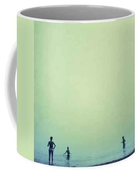Women Coffee Mug featuring the photograph Tree Women Sea Dreams by Guido Montanes Castillo