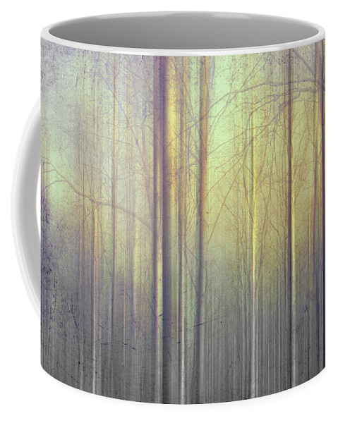 Trees Coffee Mug featuring the photograph Trees Abstraction by Mal Bray