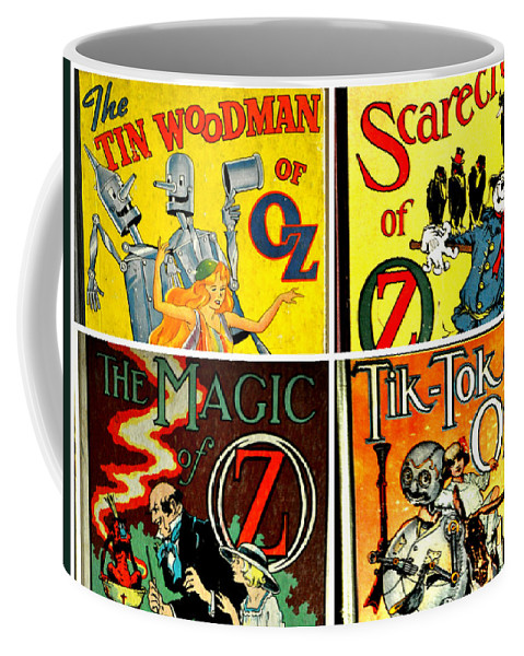 Frank Baum Coffee Mug featuring the photograph Tribute To Oz by Jay Milo