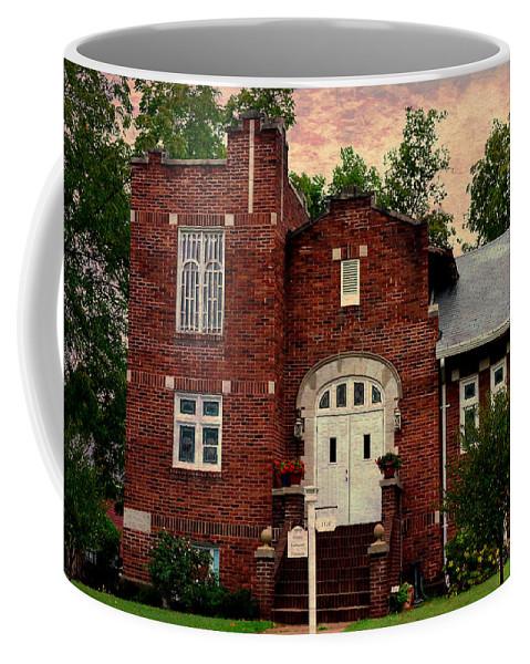 Church Coffee Mug featuring the photograph Trinity Lutheran Springfield Missouri by Deena Stoddard