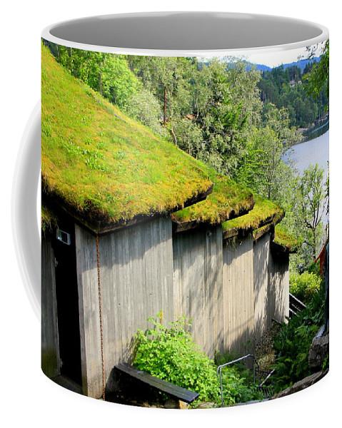 Troldsalen Coffee Mug featuring the photograph Troldsalen Concert Hall by Laurel Talabere