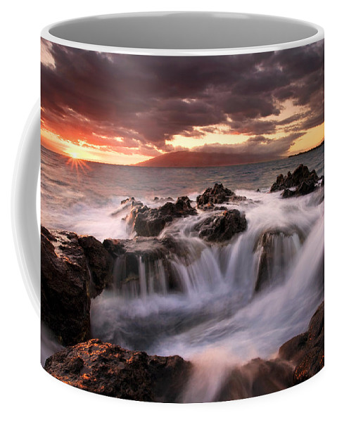 Hawaii Coffee Mug featuring the photograph Tropical Cauldron by Mike Dawson