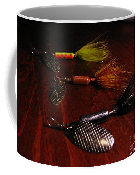 Patzer Coffee Mug featuring the photograph Trout Temptation by Greg Patzer