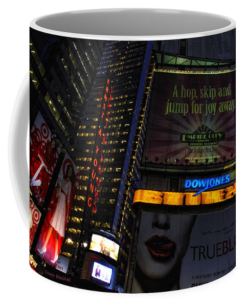 New York Coffee Mug featuring the photograph True Blood by Donna Blackhall