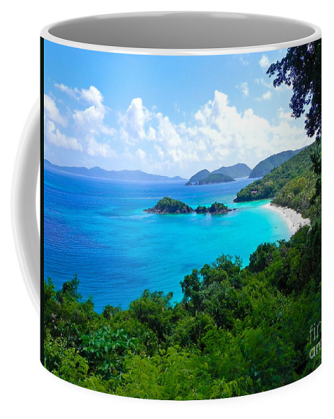 Trunk Bay Coffee Mug featuring the photograph Trunk Bay by Mary Swann