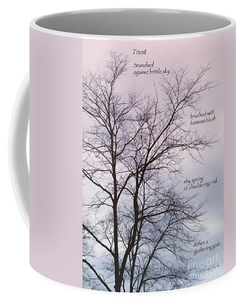 Spring Coffee Mug featuring the photograph Trust by Ann Horn