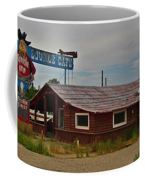 Tumble Inn Coffee Mug featuring the photograph Tumble Inn by John Malone