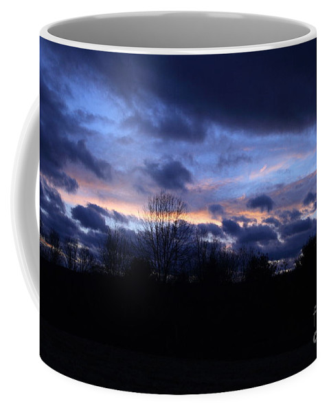 Sunset Photography Coffee Mug featuring the photograph Tungsten Blues by Neal Eslinger