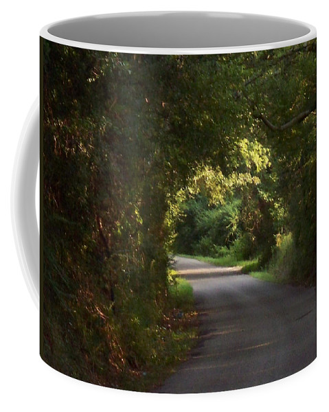 Mississippi Coffee Mug featuring the photograph Tunnel Of Trees And Light by Lanita Williams