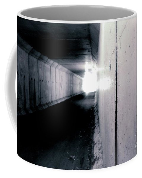 Tunnel Coffee Mug featuring the photograph Tunnel Vision by Jacqueline Athmann