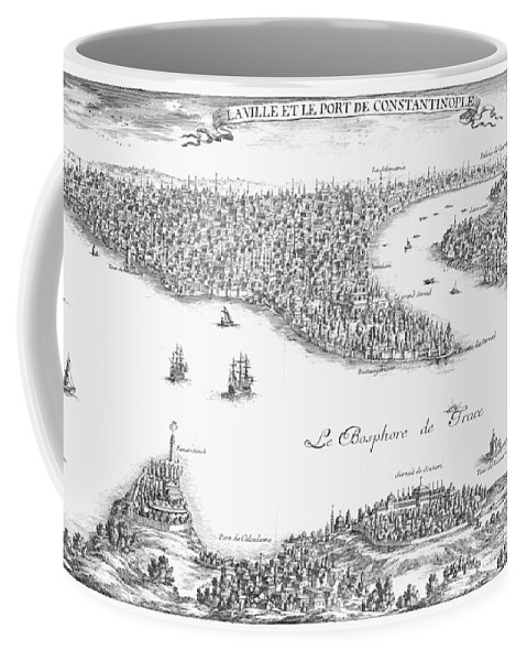 1680 Coffee Mug featuring the photograph Turkey: Istanbul, 1680 by Granger