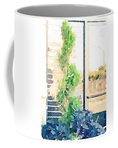 Turn Coffee Mug featuring the digital art Turn by Shannon Grissom