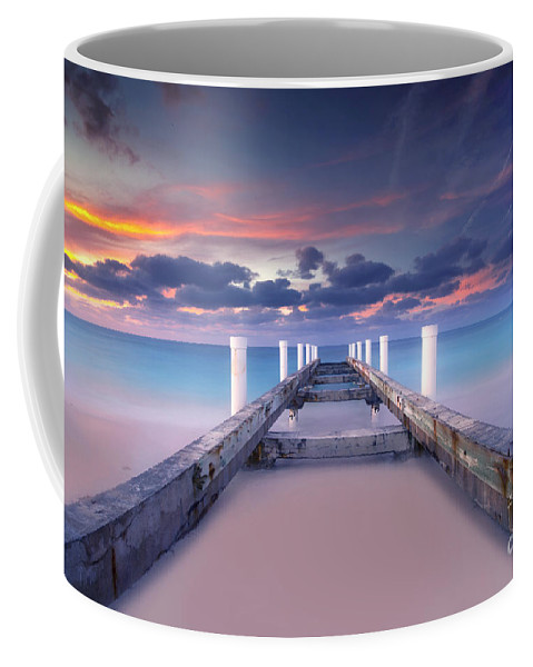 Beach Coffee Mug featuring the photograph Turquoise Paradise by Marco Crupi