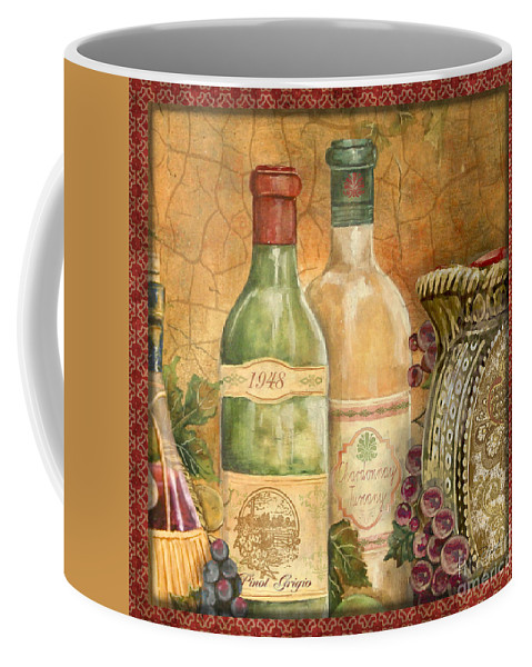 Original Coffee Mug featuring the painting Tuscan Wine-a by Jean Plout