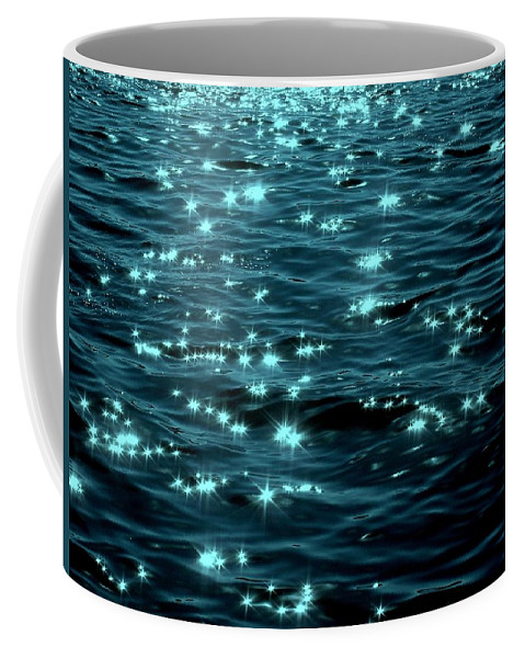 Water Coffee Mug featuring the photograph Twilight On The Waters by Deborah Crew-Johnson