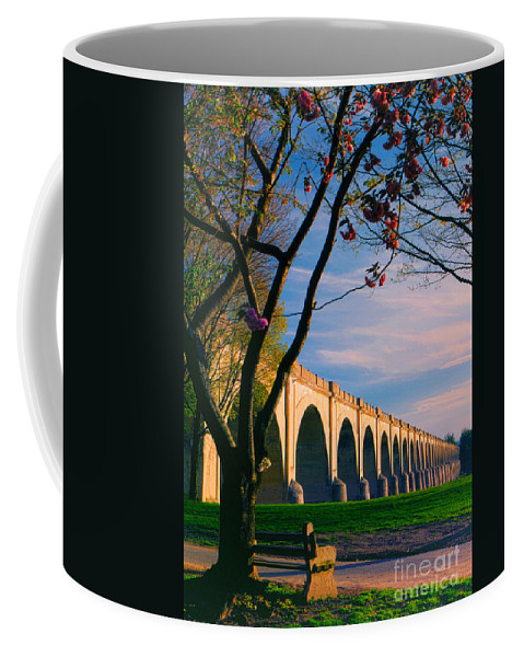 Shipoke Coffee Mug featuring the photograph Twilight Time by Geoff Crego