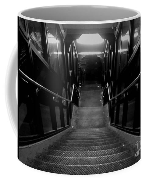 Steps Coffee Mug featuring the photograph Twilight Zone by Miriam Danar