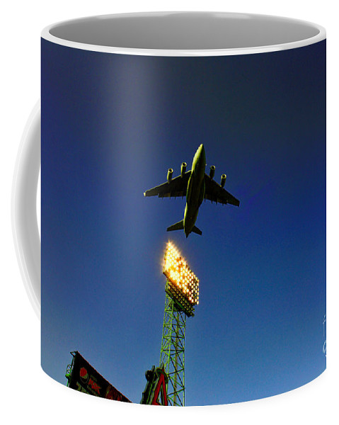 Anaheim Angels Coffee Mug featuring the photograph Twilight's Last Gleaming by Tommy Anderson