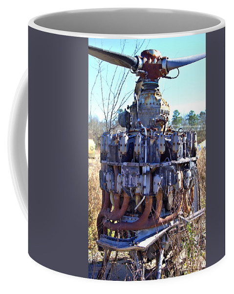 7855 Coffee Mug featuring the photograph Twin Rows by Gordon Elwell