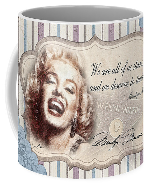 Icon Coffee Mug featuring the painting Twinkle Little Star by Mo T
