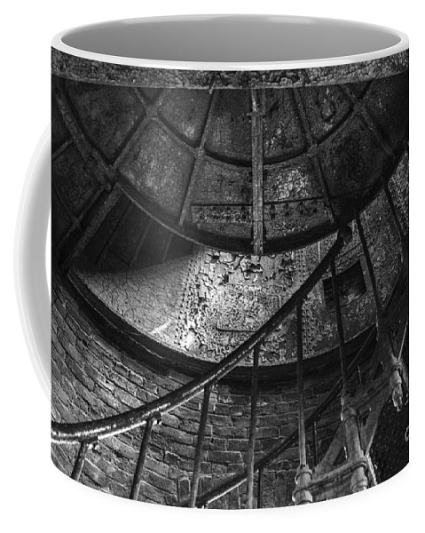 Stairs Coffee Mug featuring the photograph Twisted by Amanda Sinco