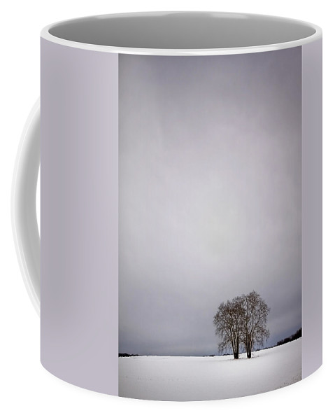 Country Coffee Mug featuring the photograph Two by Evelina Kremsdorf