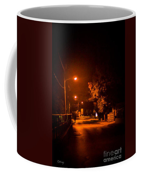 Lovers In The Night Coffee Mug featuring the photograph Lovers In The Night by Rene Triay Photography
