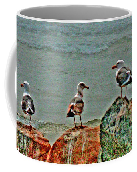 Poker Coffee Mug featuring the digital art Two Pairs Or 4 Of A Kind by Joseph Coulombe