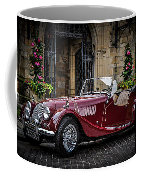 Two Seater Coffee Mug featuring the photograph Two Seater by Ronald Grogan