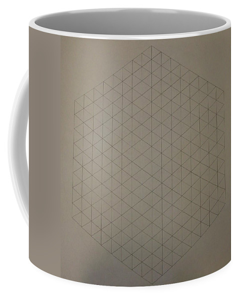 Math Coffee Mug featuring the drawing Two To The Power Of Nine Or Eight Cubed by Jason Padgett