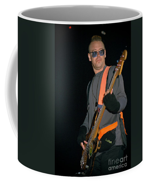 Adam Clayton Coffee Mug featuring the photograph U2-adam-gp24 by Timothy Bischoff