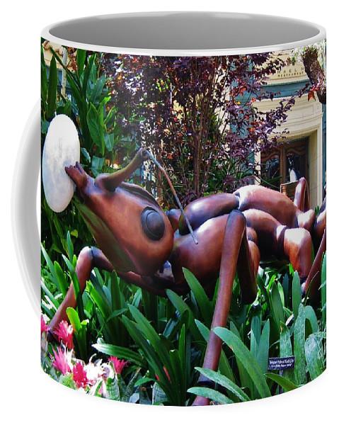 Um I Don't Think This One Is Mine Coffee Mug featuring the painting Um I Don't Think This One Is Mine by John Malone
