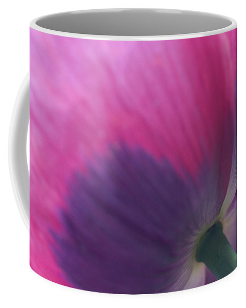 Poppy Coffee Mug featuring the photograph Under Poppy by Sharon M Connolly