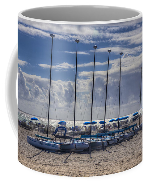 Boats Coffee Mug featuring the photograph Under The Sun by Debra and Dave Vanderlaan