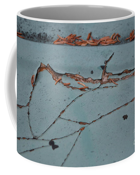 Underground Coffee Mug featuring the photograph Underground Workings by Brian Boyle
