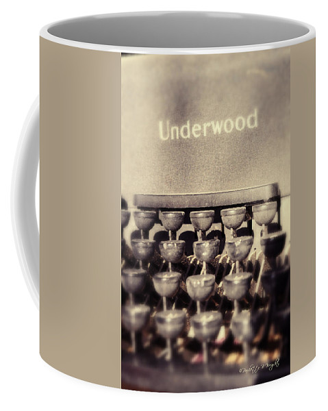 Popular Coffee Mug featuring the photograph Underwood by Paulette B Wright