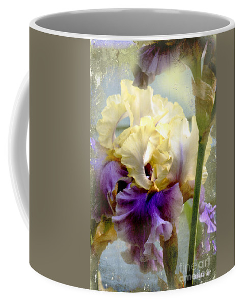 Iris Coffee Mug featuring the photograph Unheard Melodies ... by Chris Armytage