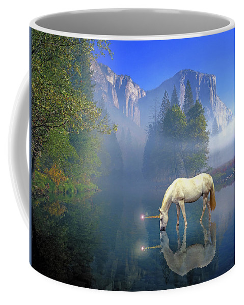 Magic Unicorn Coffee Mug featuring the photograph Unicorn I by Buddy Mays