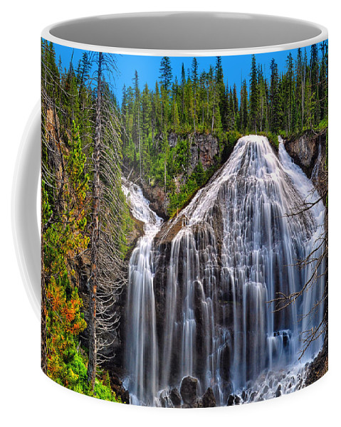 Union Falls Coffee Mug featuring the photograph Union Falls by Greg Norrell