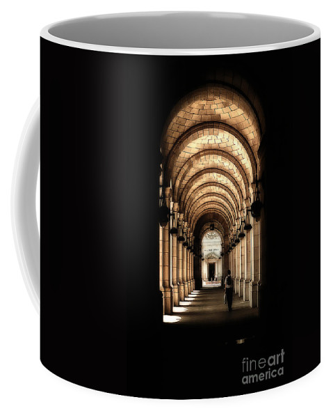 Union Station Coffee Mug featuring the photograph Union Station Dc by Mike Nellums