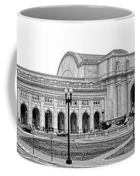 Washington Coffee Mug featuring the photograph Union Station Washington Dc by Olivier Le Queinec