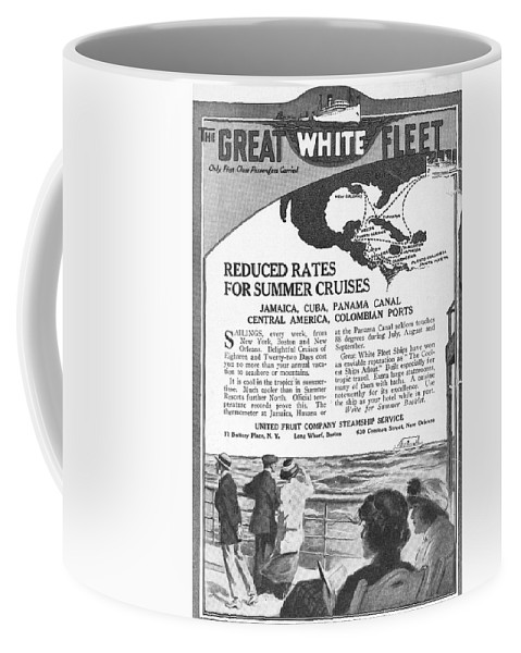 1922 Coffee Mug featuring the drawing United Fruit Company, 1922 by Granger