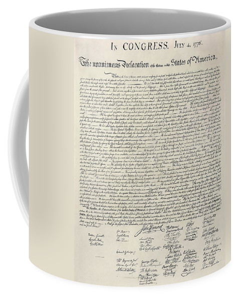 Bill+of+rights Coffee Mug featuring the photograph United States Bill Of Rights by Charles Beeler