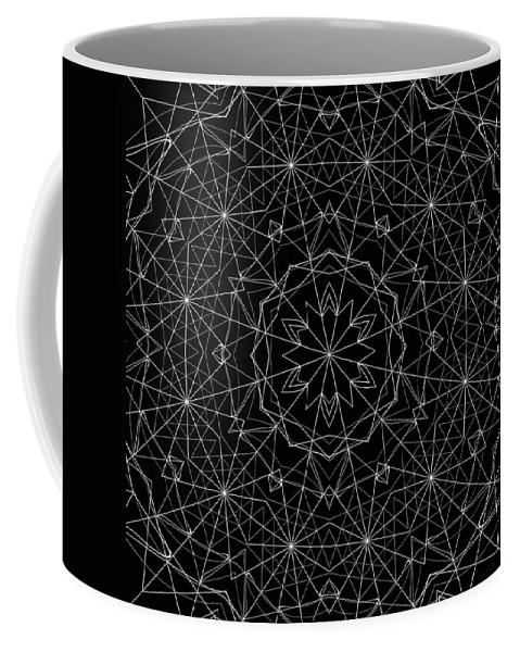 Universal Framework Coffee Mug featuring the digital art Universal Framework by Derek Gedney